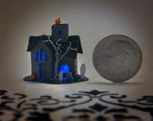 Halloween Glitter House Kit