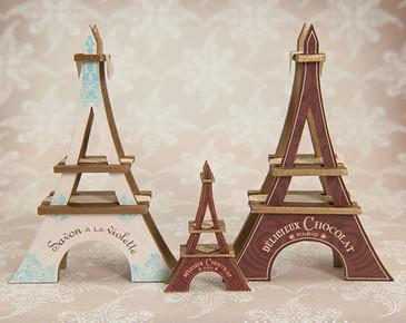1:48 Scale Eiffel Tower Chocolate Display