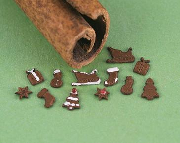 sleighs, stockings, trees, presents, snowflakes, snowmen