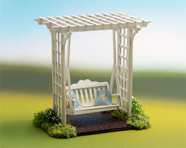 quarter scale arbor with swing kit