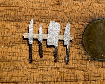 quarter scale knife set kit