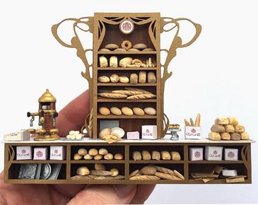quarter scale bread for C'est La Vie