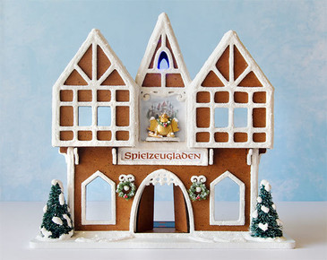 1:48 Gingerbread Toy Shop Kit - Structure Only - RETIRED