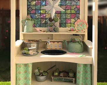 dollhouse miniature succulents kit