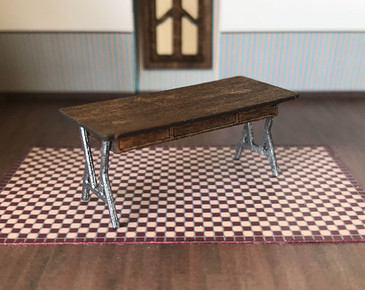 Quarter scale (1:48) Long Work Table Kit