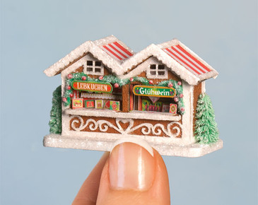 Micro Gingerbread Market Stall Kit