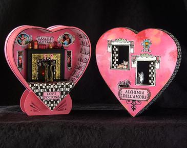 1:48 Alchimia dell'amore, a quarter scale miniature kit