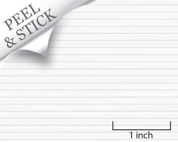 Shiplap pattern, white color. 1:48 quarter scale peel and stick wallpaper