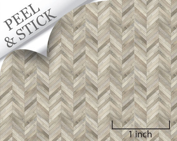 Peel and stick flooring for quarter scale dollhouse miniatures