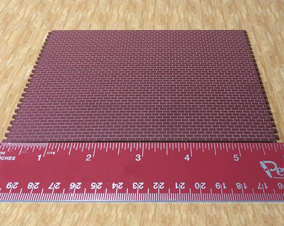 1:48 Realistic Brick Sheet