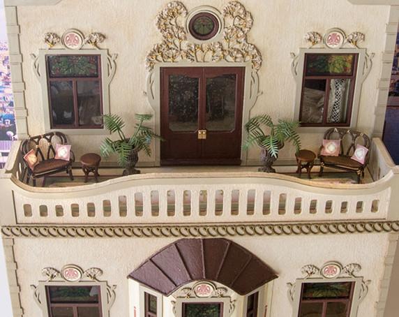 patio of the Penthouse at C'est La Vie