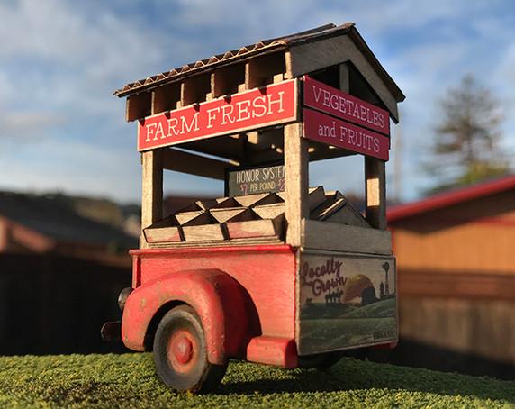 1:48 Farm Stand Kit - RETIRED