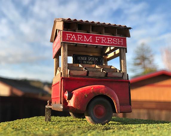Quarter Scale Farm Stand Kit