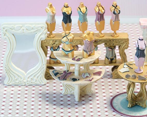 Oui Wee Lingerie - 1st Floor Interior Kit