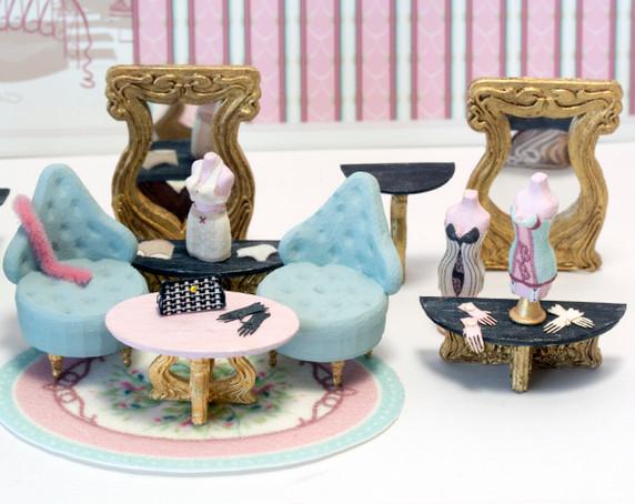 Oui Wee Lingerie - 2nd Floor Interior Kit