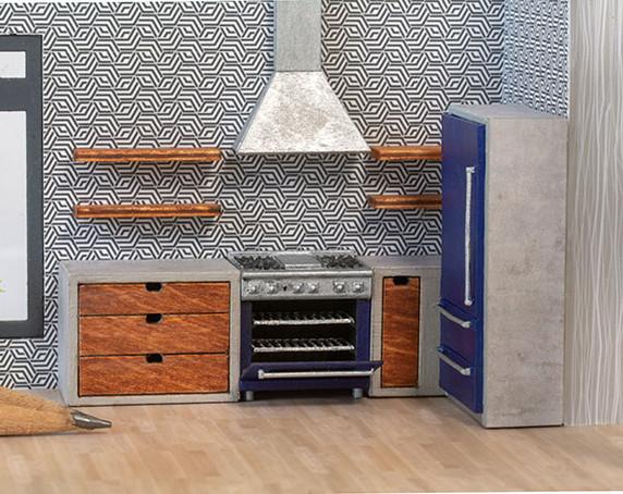 Complete Modern Kitchen Kit