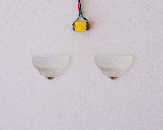 Classic style, 1:48 1/4 scale light sconce for miniatures
