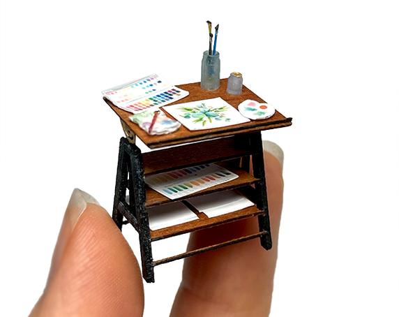 1:48 Blossom Watercolor Artist's Studio - Complete Kit