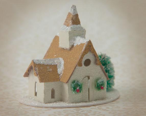 Snow Village Church