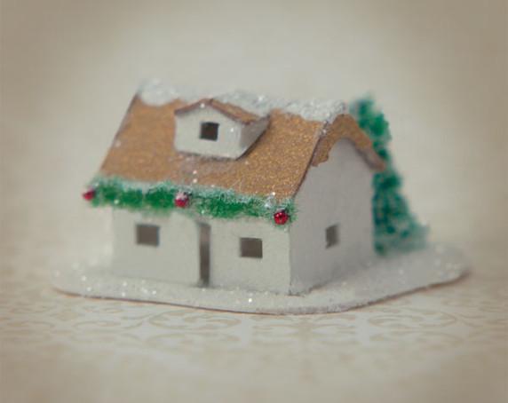 Snow Village Cottage