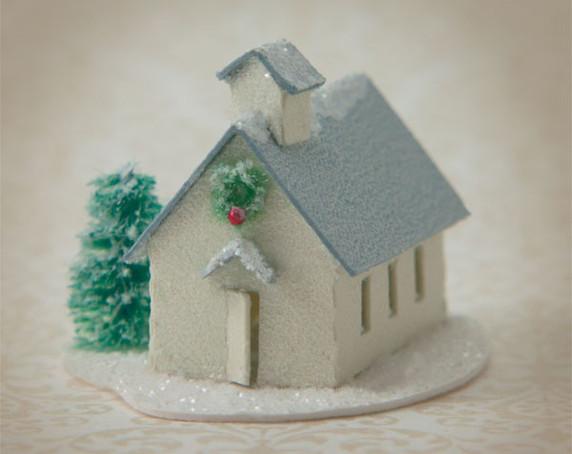 Snow Village Schoolhouse