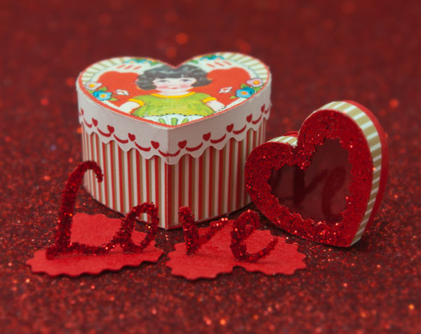 Valentine Boxes and Letters Kit