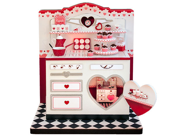 Twice as Sweet Valentine Vignette Kit