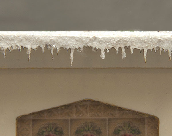 quarter scale icicle shelf edging