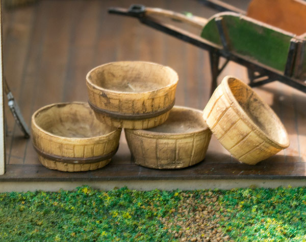 quarter scale bushel basket kit