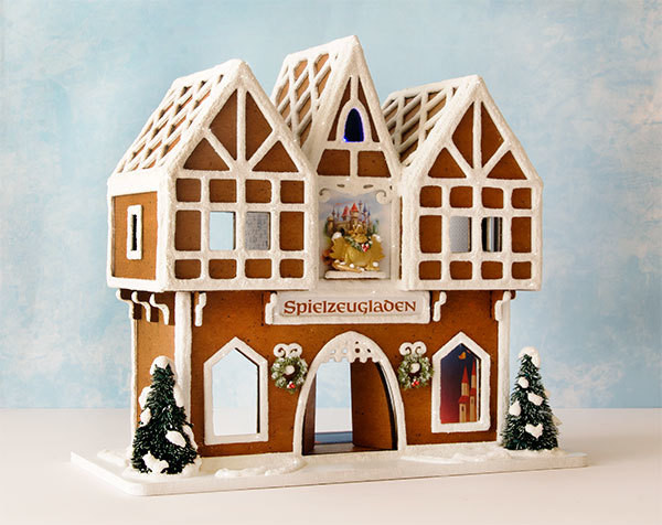 Quarter scale Gingerbread Toy Shop - Structure Kit