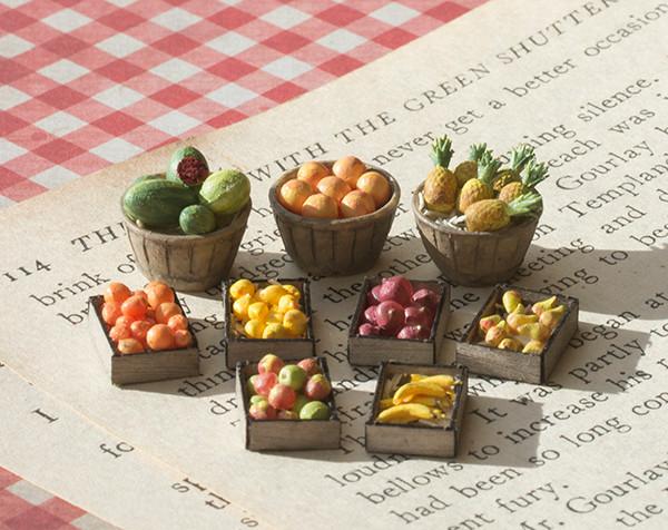 1:48, (quarter scale), O Scale fruit