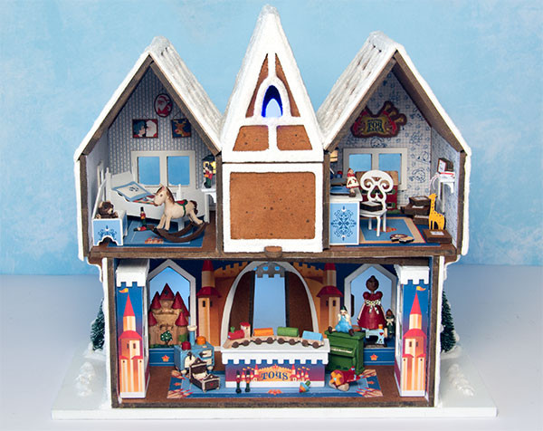 Gingerbread Ornament Shop - Interior Kit