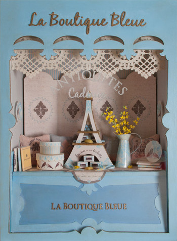 La Boutique Bleue Window Vignette Kit