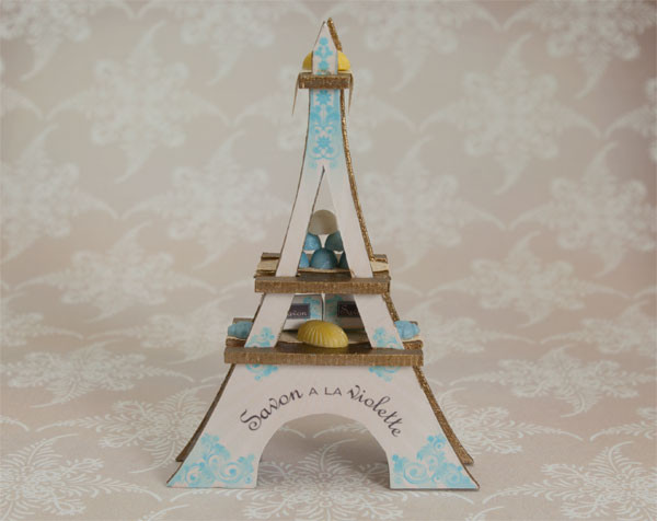 Eiffel Tower Soap Display