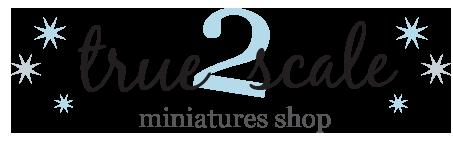 True2Scale   Dollhouse Miniature Kits in quarter scale & 1