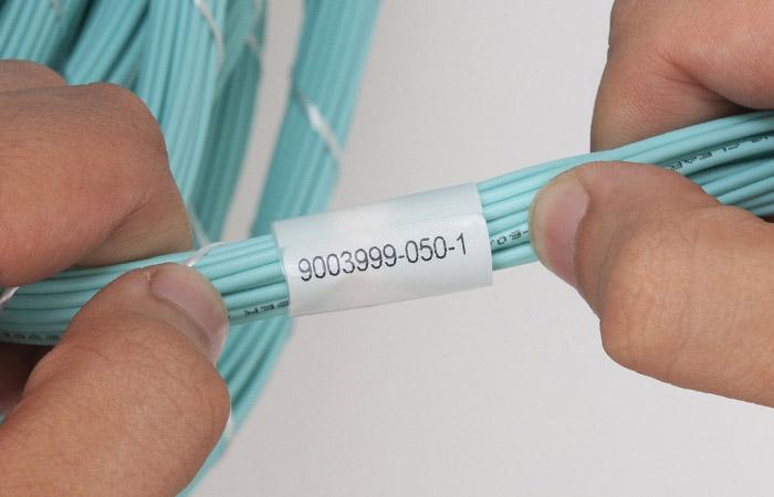 Bundle label close-up