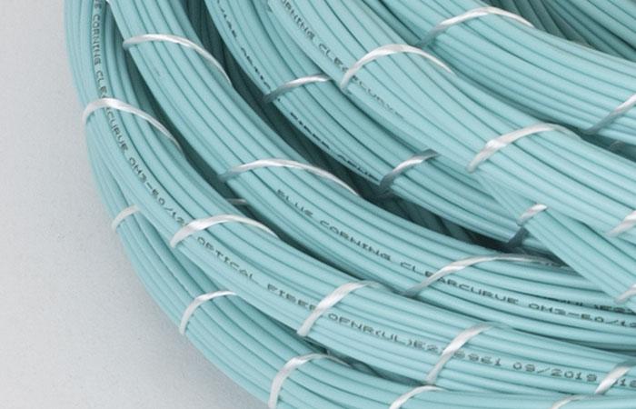 Fiber patch cables bundled