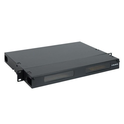 Fiber Optic Empty Rack Mount Enclosure HD 4 Adapter Panel Spaces