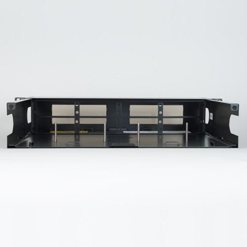 Fiber Optic Empty Rack Mount Enclosure HD 8 Adapter Panel Spaces No Back