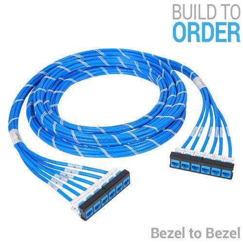 Pre-terminated Ethernet Patch Panel - Bezel to Bezel