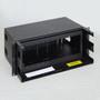 Fiber Optic Empty Rack Mount Enclosure 12 Adapter Panel Space No Front Cover