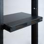 SC-SC Fiber Optic Rack Mount Enclosure Pre-configured with 4 HD Adapter Panels with 48 10G Aqua Fibers