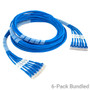 Build to Order CAT6 Ethernet Patch Cord with 24 AWG UTP