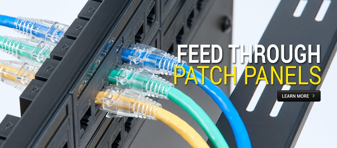 Feed Through Patch Panels