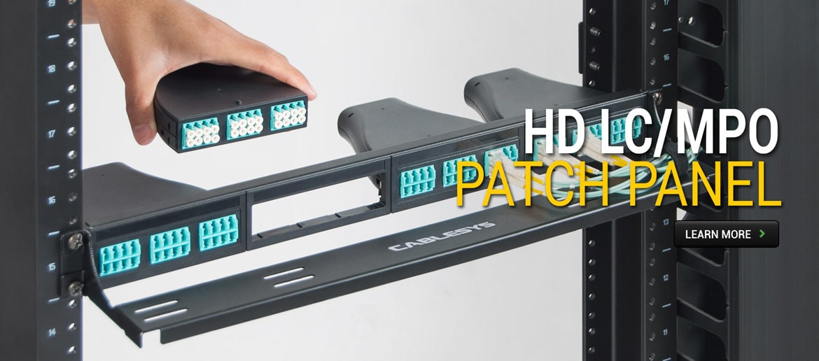HD LC/MPO Patch Panel
