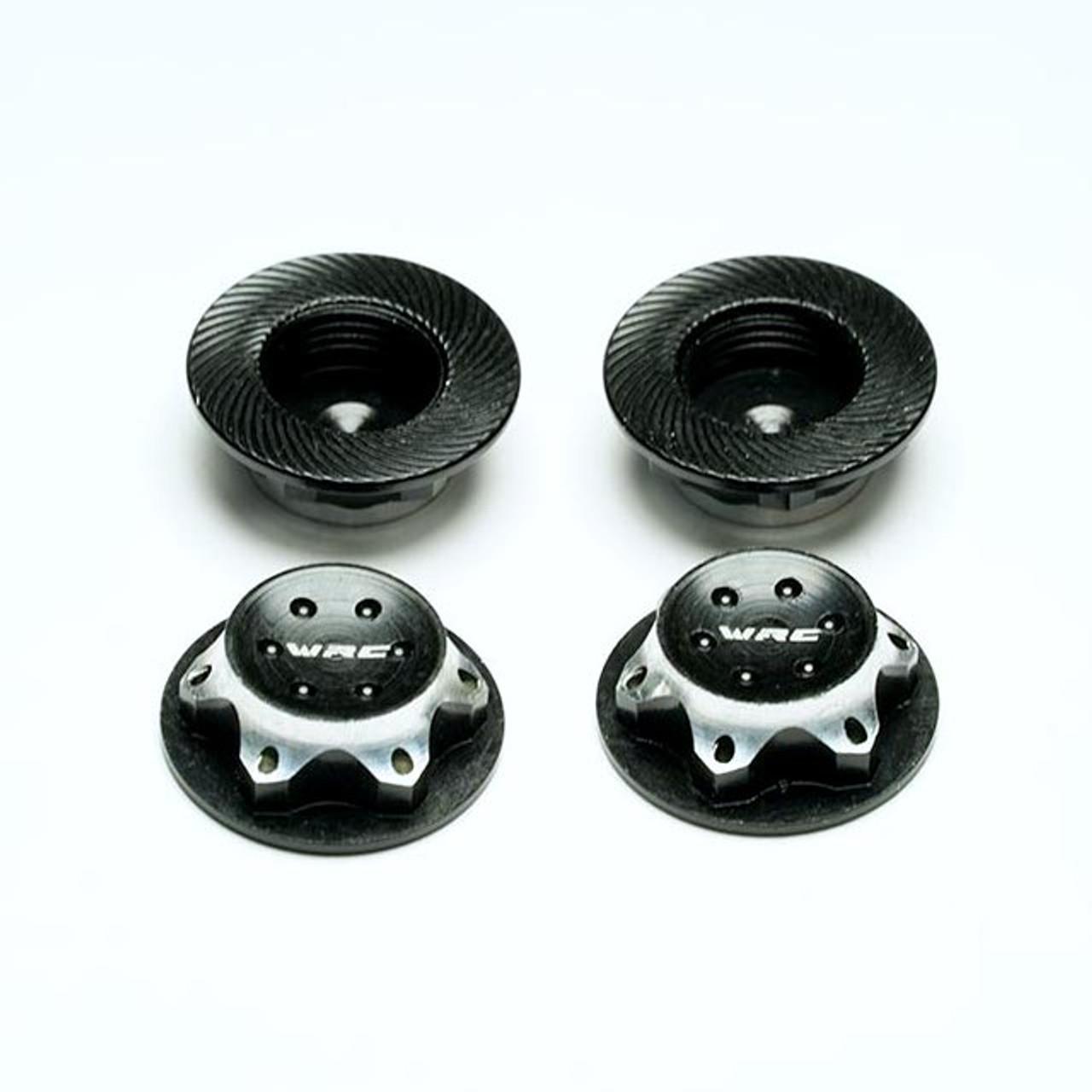 Option - Wheel Nuts - Locking Aluminium Closed