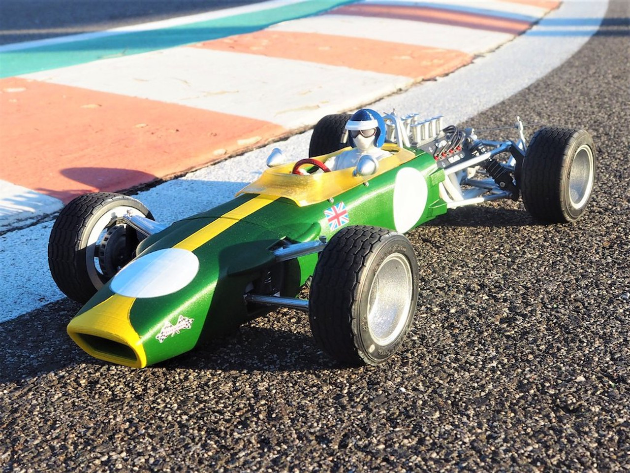 Grand Prix 3D 1/10th Kit with Motor and Servo