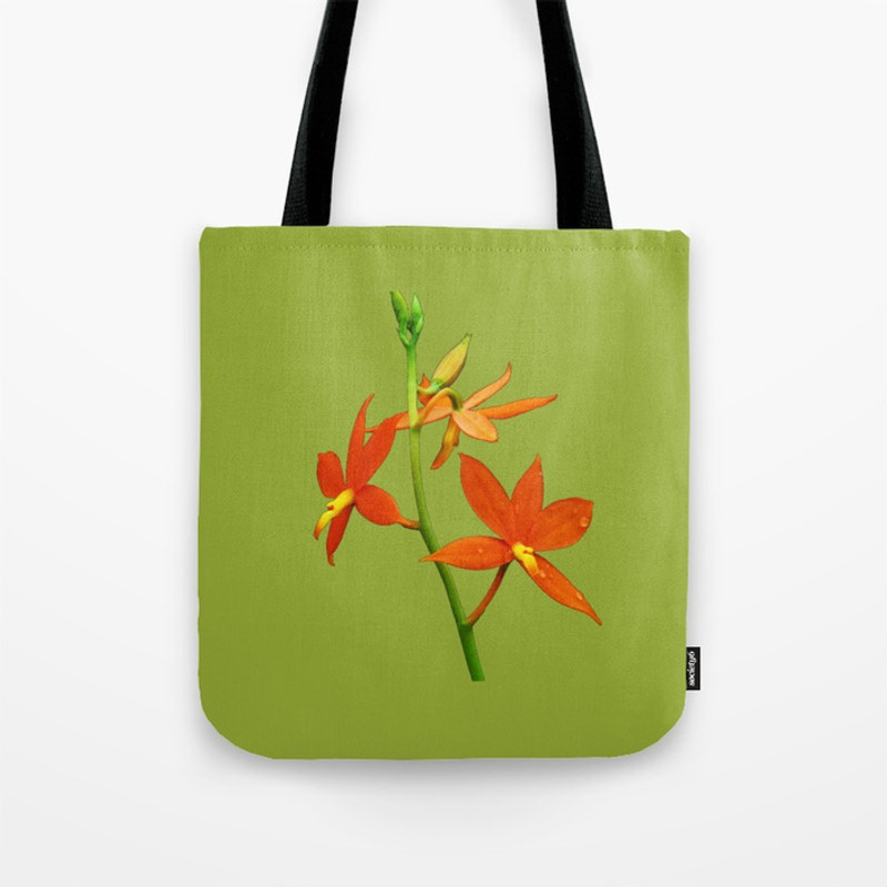 Encyclia vitellina Tote Bag