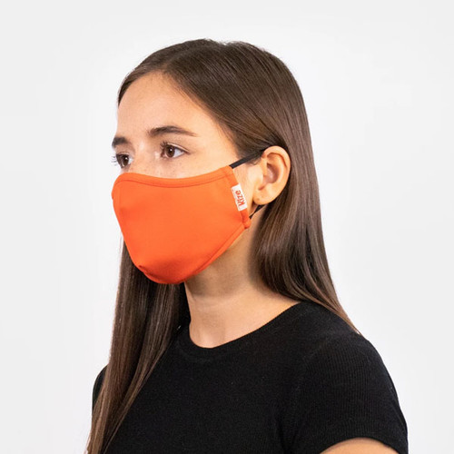 Adult Premium Solid Color Face Mask with Filter Pocket