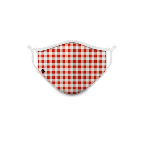 Women's Plaid Stealth Face Mask